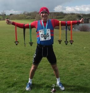 World record breaker Steve Edwards